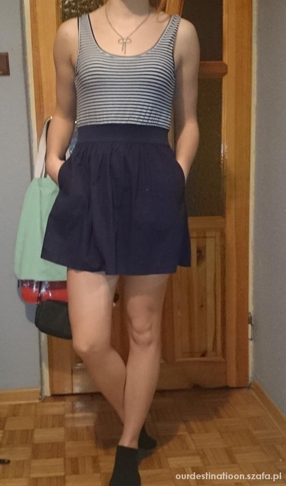 Piękna sukienka na lato w paski