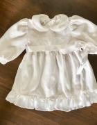 Sukienka Biała Chrzest 74 Baby Colibra...