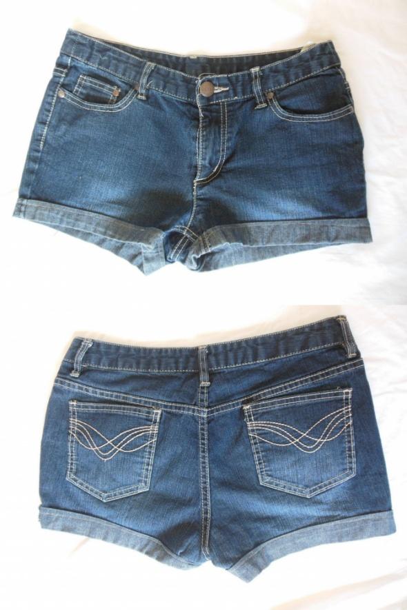 Spodenki Takko szorty spodenki jeans granatowe 36