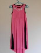 George różowa sukienka asymetryczna 36...