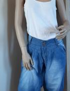 Jeansowe alladynki...