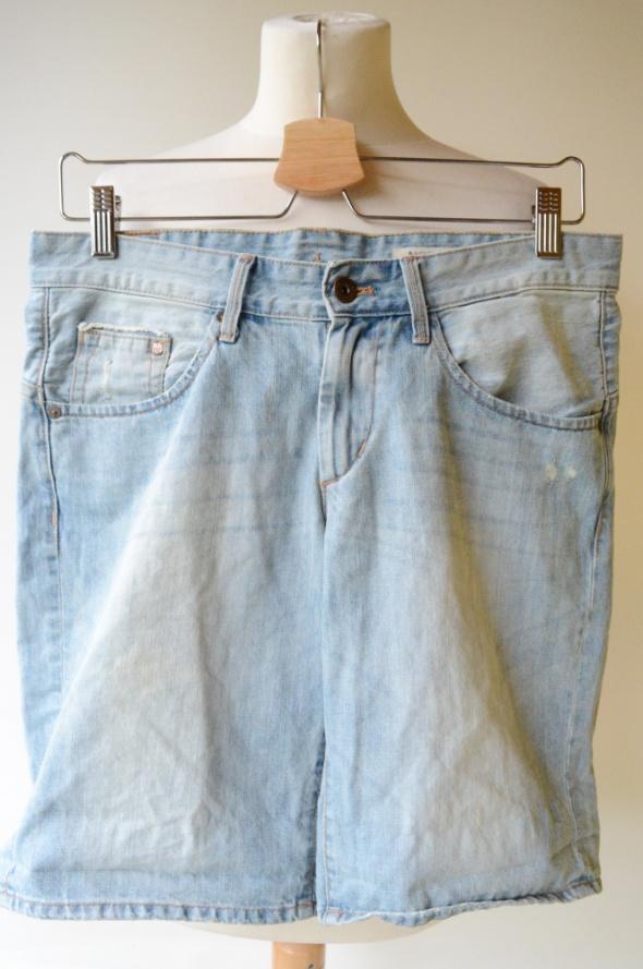 Spodenki Jeans XS 34 H&M Boyfriend Dzins Krótkie...