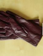 skórzane rękawiczki...
