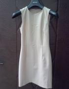 Obcisła sukienka nude made in italy Xs...