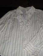 bluzka koszulowa z żabotem...