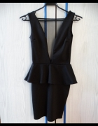 Czarna seksowna sukienka