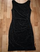 Czarna sukienka M L...
