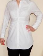 Bon Prix L 40 biała długa koszula Taliowana...