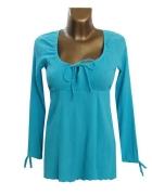 Kobieca Niebieska Bluzka M L