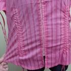 Koszula na haftki zapinana