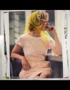 Koronkowa sukienka Pudrowy róż H&M 40...