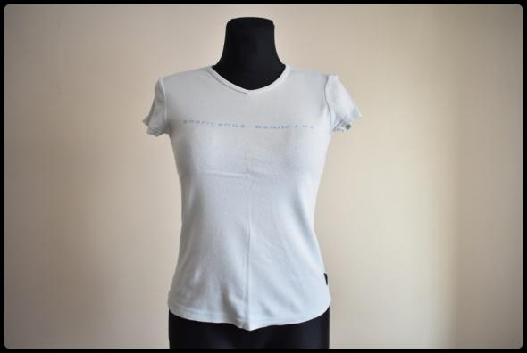 Bluzki Americanos prosta bluzka z krótkim rękawem 38 M