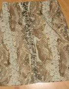 Spódnica mini skóra węża