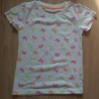 Nowy letni komplecik dla dziewczynki motyl 110 116