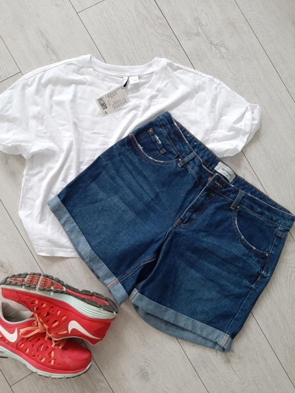 Spodenki Spodenki jeansowe ciemny jeans