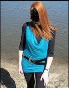 Morska tunika lub sukienka rozmiar uniwersalny...