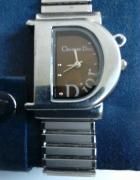 Zegarek Christian Dior na bransolecie...
