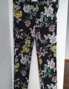 spodnie w kwiaty HM...