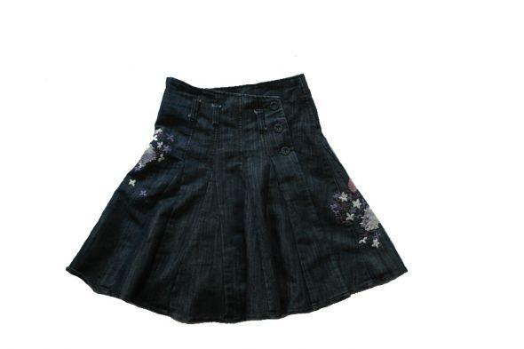 Spódnica rozloszowana modna 140 NOWA