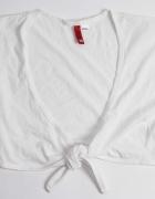 H&M białe bolerko narzutka letnia do sukienki...
