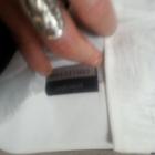 piękna ołowkowa spódnica czarno biała