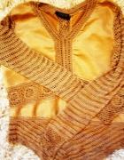 sweterek w stylu hippie boho...