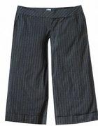 Ciepłe Formalne Szare Spodnie L XL...