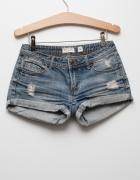 Krótkie spodenki szorty jeansowe...
