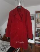 Płaszcz 80 procent wełna