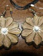 Izraelskie kolczyki kwiatki...