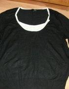 NEXT sweterek z kokardką dla puszystej 46...