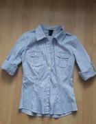 koszula taliowana w paski...