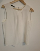 Biała damska bluzka Mango M...