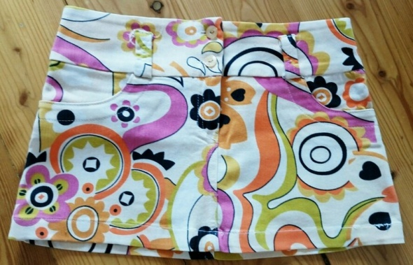 Spódnice Spódnica we wzory kolorowa