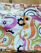 Spódnica we wzory kolorowa...