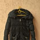 Ciepła zimowa długa kurtka Zara pikowana ściągacz