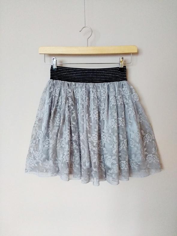 Koronkowa spódnica miętowa M Atmosphere M Zara...