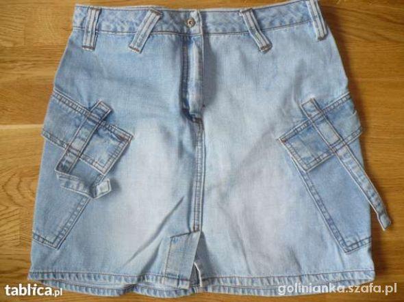 Spodenki spódnica jeans 38 40