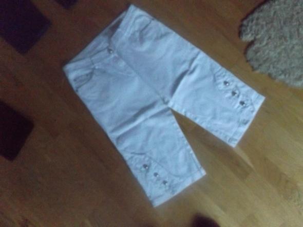 Spodenki Spodeni jeans 40 białe