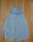 sukienka szara groszki kropki rozkloszowana...