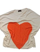 Nietoperz bluzka z sercem 38...