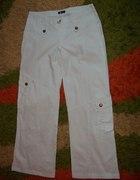 Spodnie białe sportowe...