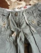 spodnie cross khaki letnie...