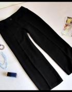 Marks i Spencer czarne spodnie na kant rozmiar L...