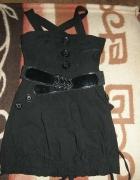 Śliczna krótka elastyczna sukienka XS S...