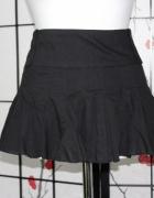 spódnica spódniczka czarna biodrówka mini krótka...