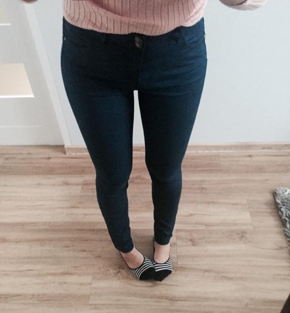 spodnie wysoki stan reserved