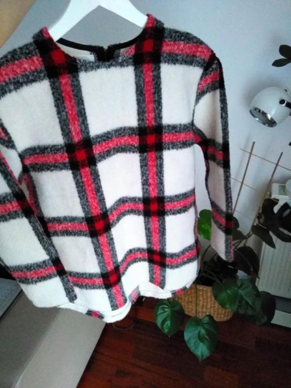 Sweter w kratke wełniany 36 Zara