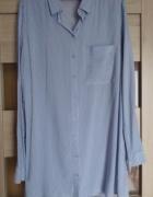 Długa koszula w paski...