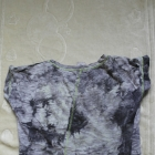 Szara bluzka z wstawką neonka 158